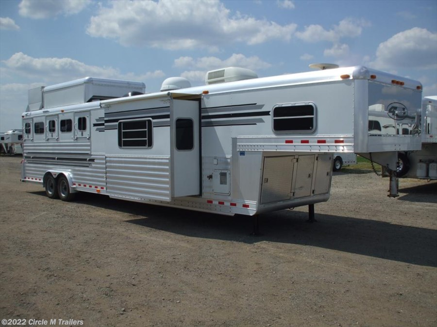 2005 4-Star 5 horse 13' SW Outlaw SLIDE OUT + AIR RIDE!!