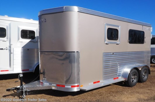 2 Horse Trailer - 2018 Lakota Charger Straight Load Walk Thru available New in Elk Mound, WI