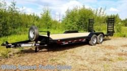 New 2016 Diamond C 20' Equipment with Drive-Over Fenders 14K For Sale by White Spruce Trailer Sales available in North Pole, Alaska