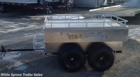 2015 Bosski  2000# GVWR Tandem Axle Trailer All Alum M