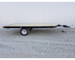 #861214ST-00332 - 2017 Midsota 8.5' x 12' Steel Snowmachine Trailer Sing