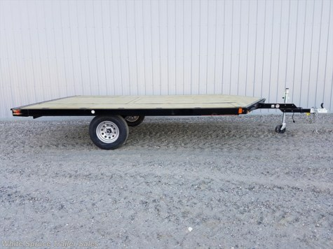 2017 Midsota  8.5' x 12' Steel Snowmachine Trailer Sing