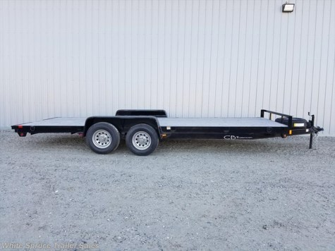 "New 2016 C&B 6'10"" x 20' Equipment Trailer 10K For Sale by White Spruce Trailer Sales available in North Pole, Alaska"