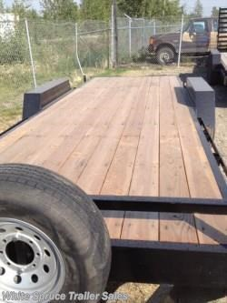 "New 2016 C&B 82"" X 20' EQUIPMENT TRAILER 14K For Sale by White Spruce Trailer Sales available in North Pole, Alaska"