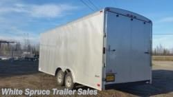 "Used 2015 Cargo Mate  8.5' x 20' x 7'7"" Enclosed w/ Ramp Door 1 For Sale by White Spruce Trailer Sales available in North Pole, Alaska"