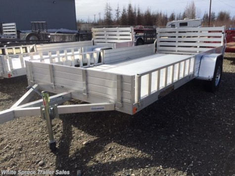 "New 2017 Aluma 81"" X 14' ALL ALUMINUM UTILITY For Sale by White Spruce Trailer Sales available in North Pole, Alaska"