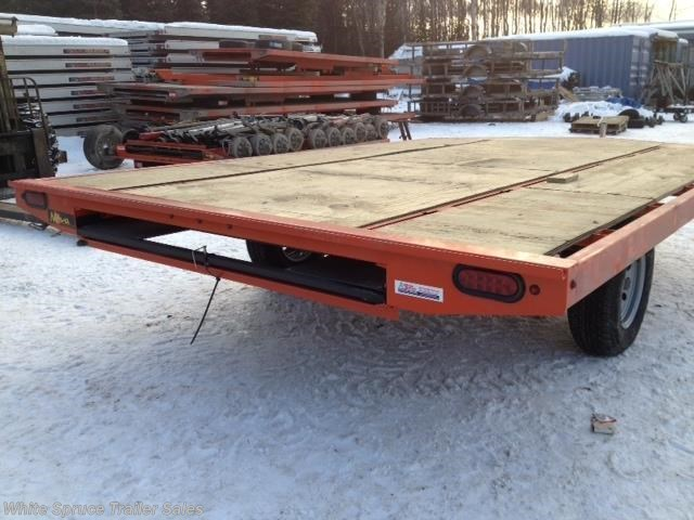 2017 Midsota 8.5' X 12' STEEL SNOWMACHINE TRAILER