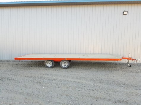 2017 Midsota  8.5' x 22' Steel Snowmachine Tandem Axle