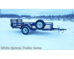 #2PSAL10-60-85824 - 2017 Diamond C 5' X 10' UTILITY SINGLE 3500# AXLE