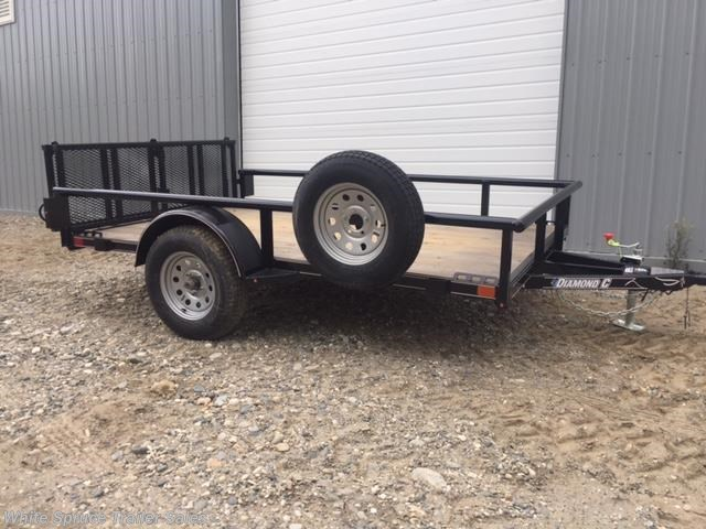 "2017 Diamond C 6'5"" X 10' UTILITY SINGLE 3500# AXLE"