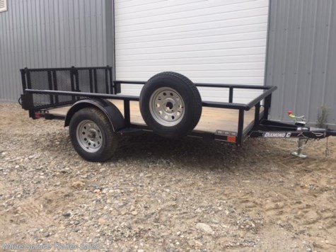 "New 2017 Diamond C 6'5"" X 10' UTILITY SINGLE 3500# AXLE For Sale by White Spruce Trailer Sales available in North Pole, Alaska"
