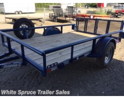 "#2PSAL10-77-85886 - 2017 Diamond C 6'5"" X 10' UTILITY SINGLE 3500# AXLE"