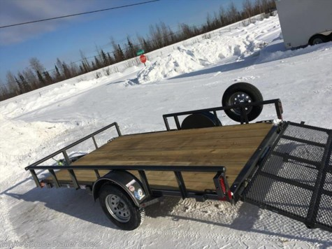 "New 2017 Diamond C 83"" X 12' UTILITY W/ BI-FOLD SIDE GATE For Sale by White Spruce Trailer Sales available in North Pole, Alaska"