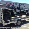 2017 C&B 6' x 12' Aluminum Utility  - Utility Trailer New  in North Pole AK For Sale by White Spruce Trailer Sales call 907-488-3004 today for more info.