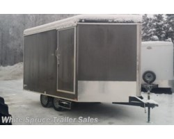 #SB8517TA2-462962 - 2017 Cargo Mate  8.5' X 17' ENCLOSED SNOW TRAILER, 7K