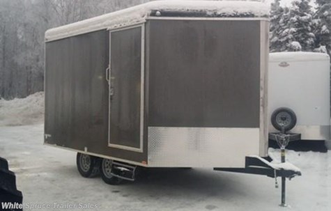 2017 Cargo Mate   8.5' X 17' ENCLOSED SNOW TRAILER, 7K