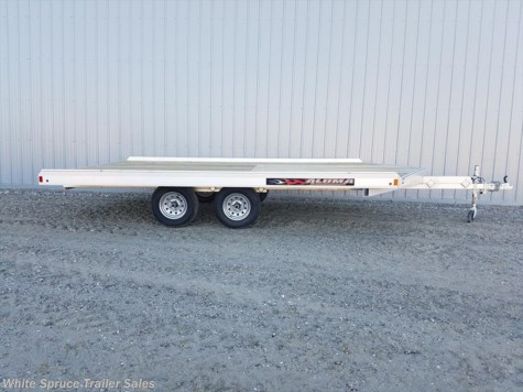 New 2018 Aluma 8.5' X 14' ALL ALUMINUM WITH BRAKES For Sale by White Spruce Trailer Sales available in North Pole, Alaska
