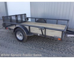 "#2PSAL10-77-85661 - 2017 Diamond C 6'5"" X 10' UTILITY SINGLE 3500# AXLE"