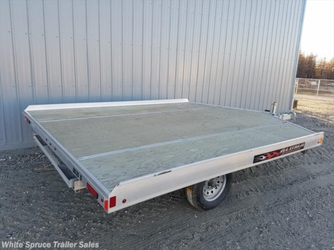 2018 Aluma  10' All Aluminum Snowmachine Trailer Sing
