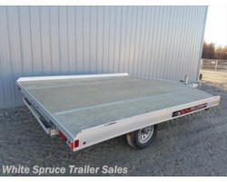 #861013-66734 - 2018 Aluma 10' All Aluminum Snowmachine Trailer Sing