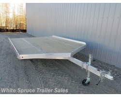 #861213-66738 - 2018 Aluma 12' All Aluminum Snowmachine Trailer