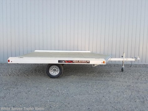 2018 Aluma  12' All Aluminum Snowmachine Trailer