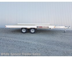 #861413EB-68543-SR - 2018 Aluma 8.5' X 14' ALL ALUMINUM WITH BRAKES