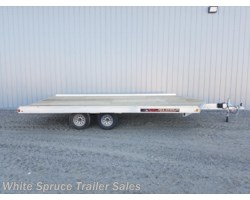 #861613-68542 - 2018 Aluma 8.5' X 16' ALL ALUMINUM WITH BRAKES