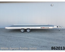 #862013-65839-SR - 2018 Aluma 8.5' X 20' ALL ALUMINUM WITH BRAKES