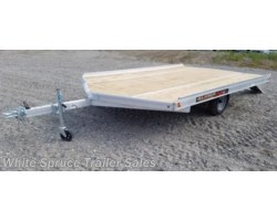#861213-70084 - 2018 Aluma 12' All Aluminum Snowmachine Trailer