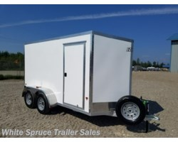 #EZEC612-14905 - 2017 Mission Trailers 6' X 12' ALL ALUMINUM ENCLOSED 7K