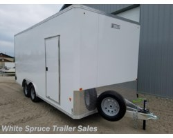 #EZEC818-14925 - 2017 Mission Trailers 8' X 18' ALL ALUMINUM ENCLOSED 7K