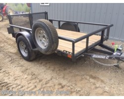 #2PSAL8-85580 - 2017 Diamond C 5' X 8' UTILITY SINGLE 3500# AXLE