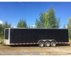 #USED-00048 - 2016 Miscellaneous EMPIRE 8' X 28' ENCLOSED TRIPLE AXLE 21K