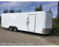 #USED-22954 - 2017 Pace American 8' X 24' ENCLOSED TRAILER 10K