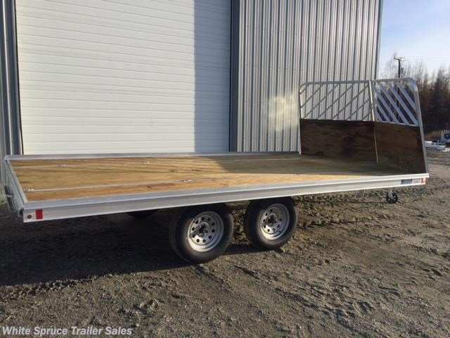 "2018 Mission Trailers 8'6"" X 16' ALL ALUMINUM SPLIT RAMPS"