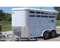 #MAV2H13Steel - 2017 Maverick 2 Horse 13' Steel Horse Trailer