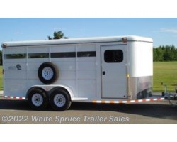 #MAV2HHS - 2017 Maverick 2 Horse Steel High Side Horse Trailer