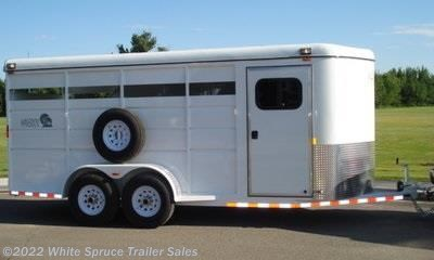 3 Horse Trailer - 2017 Maverick 3 Horse Steel High Side Horse Trailer available New in Anchorage, AK