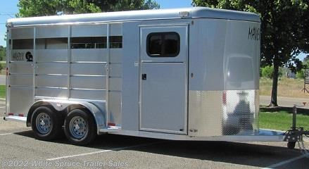 2 Horse Trailer - 2017 Maverick 2 Horse Lite Aluminum Horse Trailer available New in Anchorage, AK