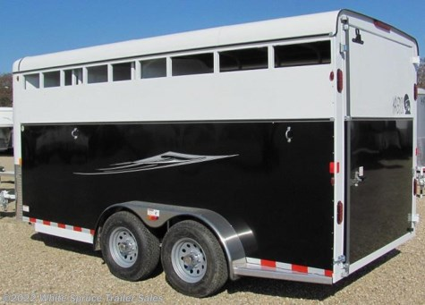 New 2017 Maverick 2 Horse HS DW (Steel w Alum) For Sale by White Spruce Trailer Sales available in Anchorage, Alaska