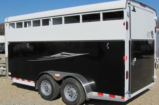3 Horse Trailer - 2017 Maverick 3 Horse HS DW (Steel w Alum) available New in Anchorage, AK