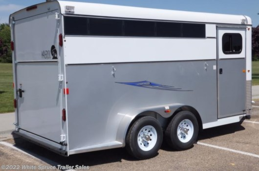 3 Horse Trailer - 2017 Maverick 3 Horse Deluxe (Steel w Alum) available New in Anchorage, AK