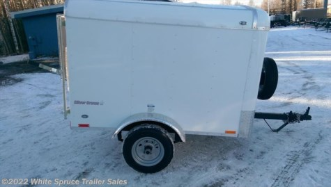 2017 Cargo Mate   4' X 6' SINGLE AXLE ENCLOSED CARGO