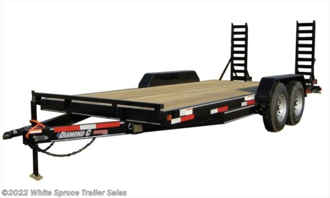 "New 2016 Diamond C 82"" x 18' Equipment 14K For Sale by White Spruce Trailer Sales available in Anchorage, Alaska"