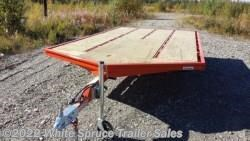 #861414ST-HA000488 - 2017 Midsota 8.5' X 14' STEEL SNOWMACHINE TRIALER, 7K