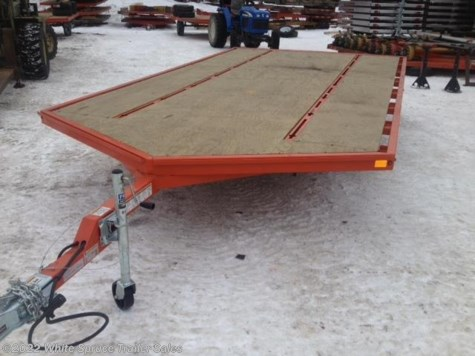 2017 Midsota  8.5' X 16' STEEL SNOWMACHINE TRAILER, 7K