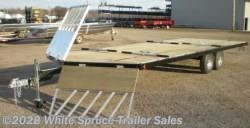 #862214ST-HA000497 - 2017 Midsota 8.5' X 22' STEEL SNOWMACHINE TRAILER, 7K