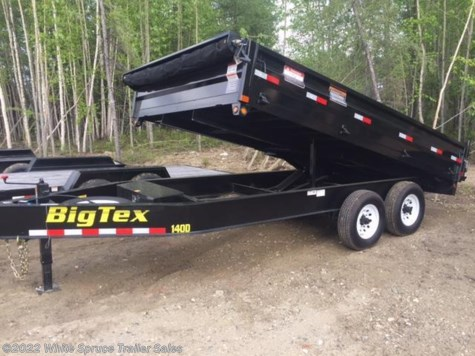 "New 2017 Big Tex 96"" X 14' OVER THE AXLE 14K  DUMP For Sale by White Spruce Trailer Sales available in Anchorage, Alaska"