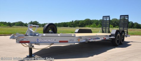 "New 2017 Diamond C 82"" X 20' LOW PROFILE 14K EQUIP For Sale by White Spruce Trailer Sales available in Anchorage, Alaska"